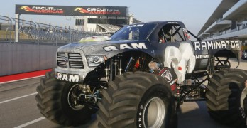 Raminator Monster Truck World Record Picture