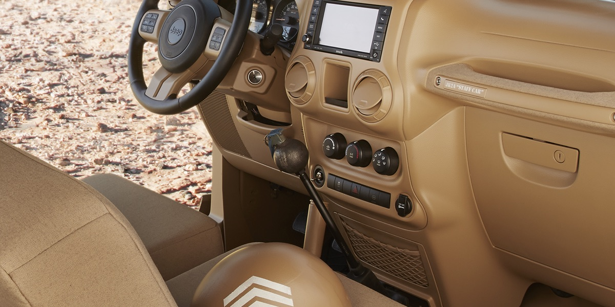 The Jeep Staff Car Concept Grenade Gear Shifter