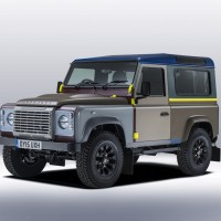 Fashion Designer Paul Smith's Land Rover Defender
