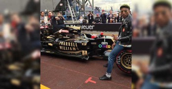 Pharrell Williams Lotus Monaco 1 featured