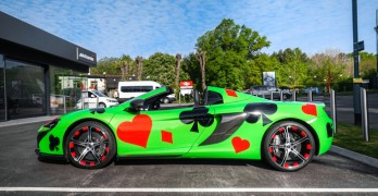 Shmee150's Mantis McLaren which he'll be entering into this year's Gumball 3000