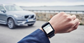 Volvo On Call will be available on Apple Watch and Android Wear from June