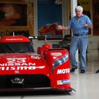 Jay Leno Meets Nissan GT-R LM Nismo Before Le Mans