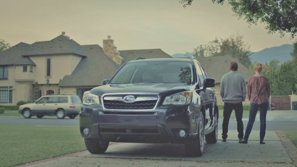 Subaru Forester makes memories in new ad