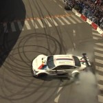 BMW DTM donuts (video)