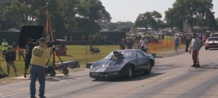 Corvette written off during street run