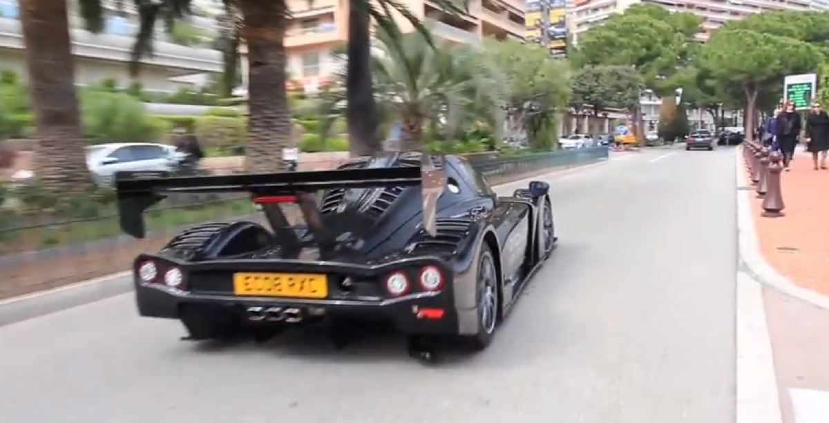 2016 Radical RXC Turbo 500 street legal around Monaco (video)