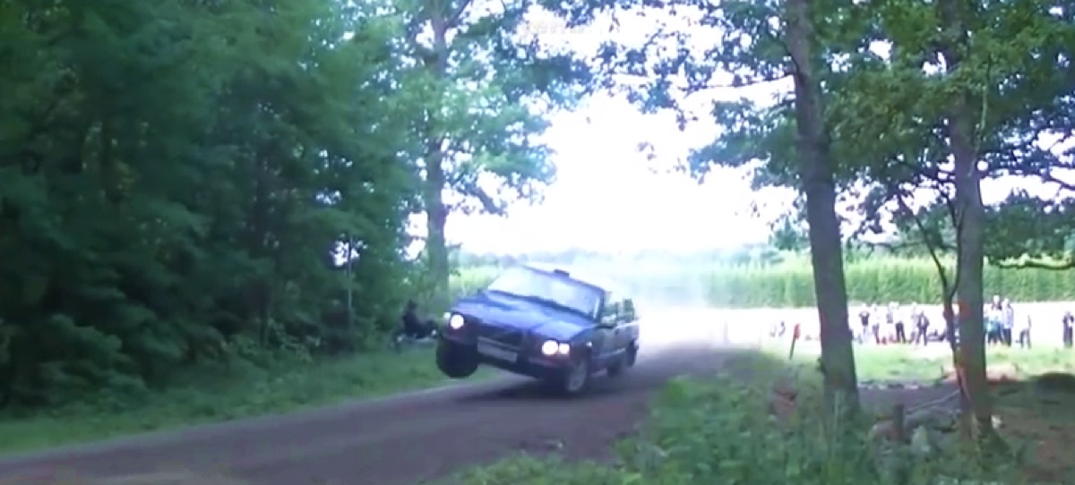 Best Swedish Rally crashes (video)