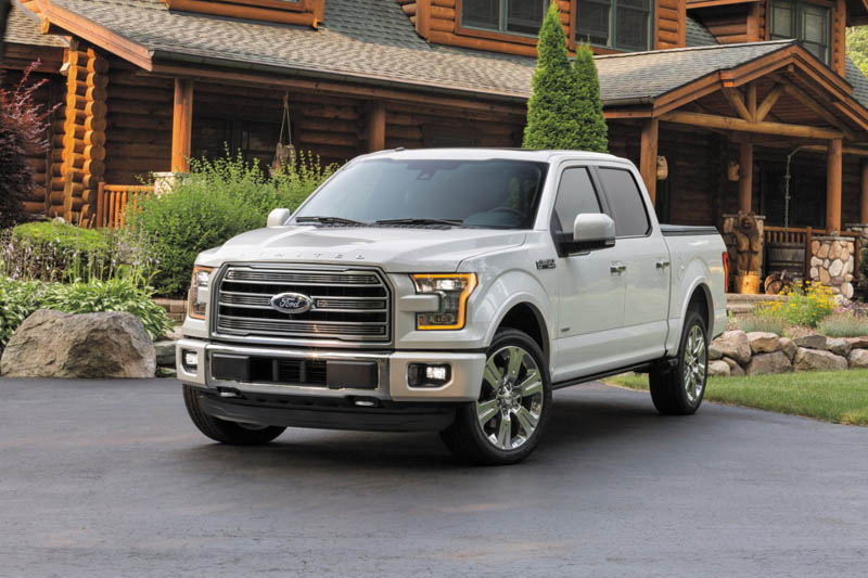 The 2016 Ford F150 Limited
