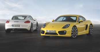 Picture of the Porsche Cayman
