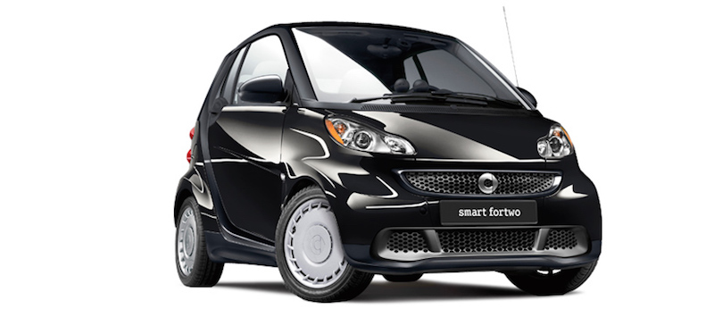 Smart car MPG article picture