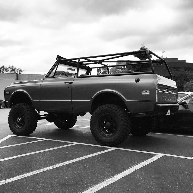 Chevy Blazer 2015 >> Travis Barker's Chevy K5 Blazer Is Totally Badass