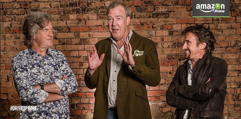 Top Gear Trio Sign Three-series Car Show Deal With Amazon Prime