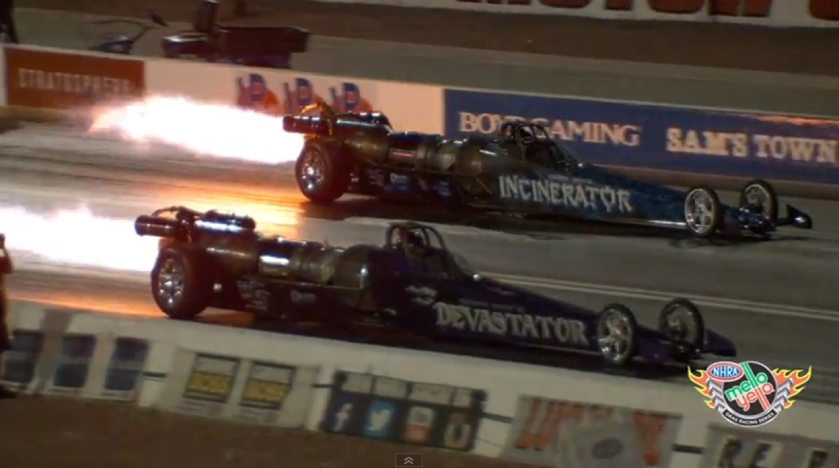 Stunning slo-Mo action from 2015 NHRA Mello Yello Drag Racing