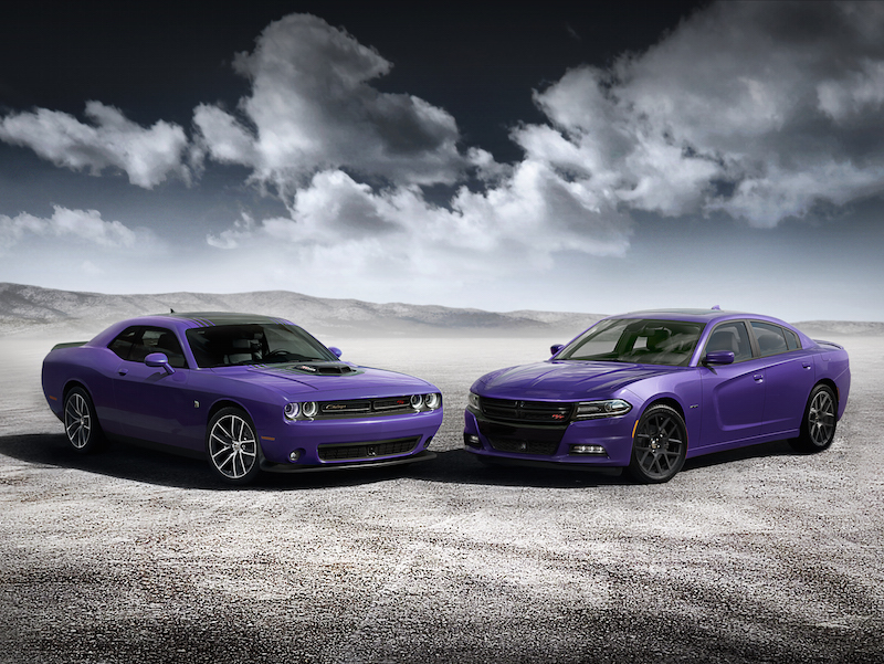 2016 Dodge Challenger & Charger Come In 'Plum Crazy' Purple