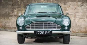 Automatic Aston Martin DB4 Auction Chassis Number 1197 3