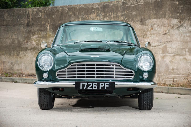Rare Aston Martin DB4 'Series V' Vantage Up For Auction