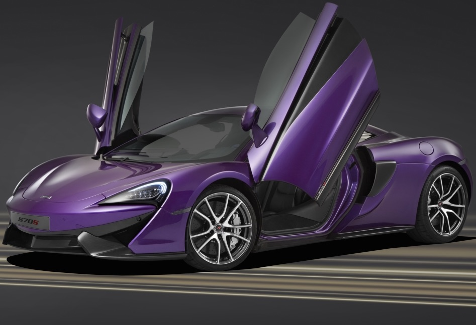 This Purple McLaren 570S Will Make You Hungry For Berries