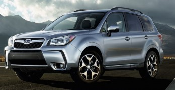 The Subaru Forester saw an increase in sales of