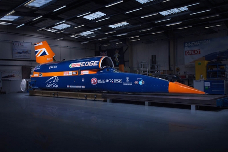 Meet The Rocket Car Aiming To Hit 1,000mph