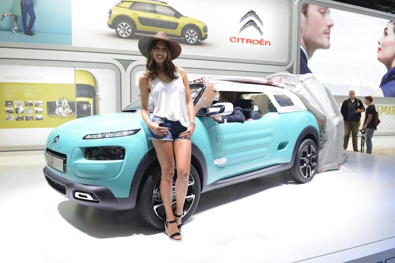 Girls Of The Frankfurt Motor Show