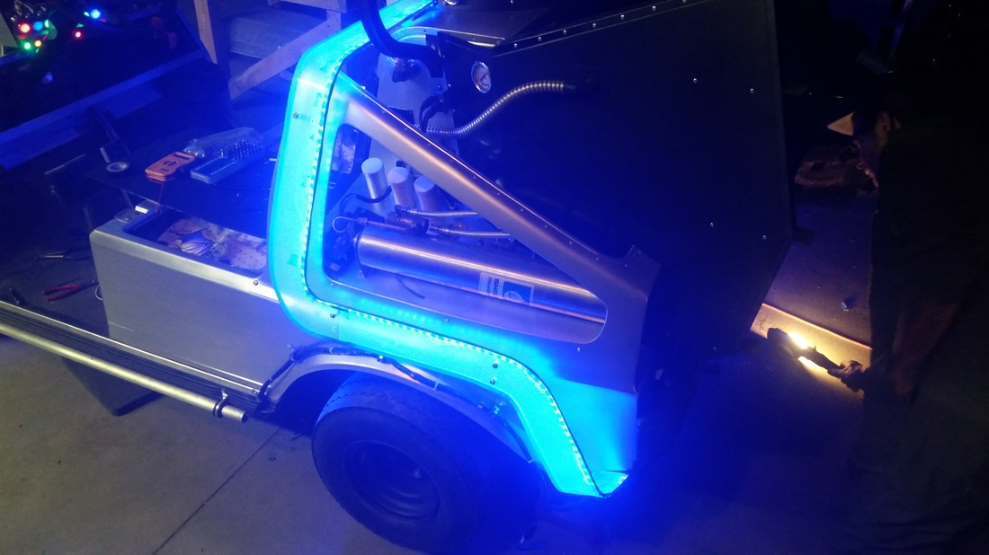 So Somebody Turned A Golf Cart Into The DeLorean