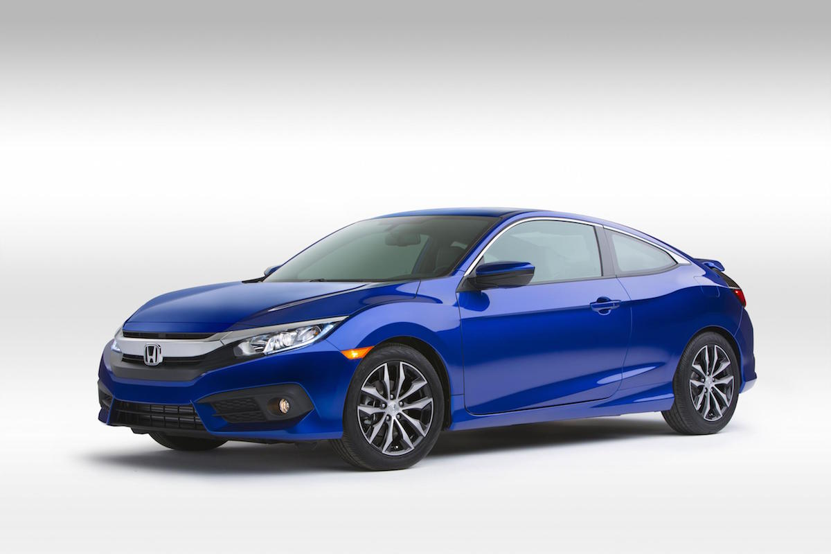 the 2016 honda civic coupe is the newest addition to the civic range. Black Bedroom Furniture Sets. Home Design Ideas