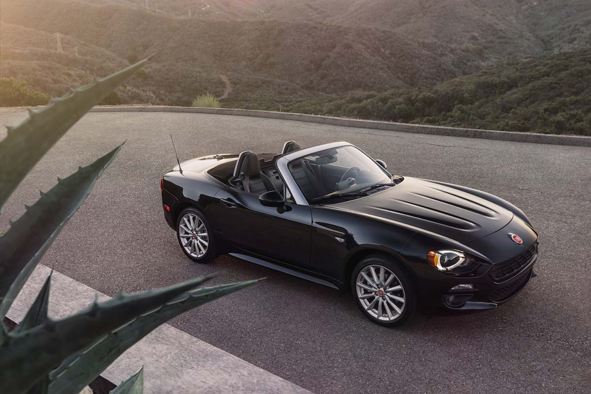 Say Hello To The 2017 Fiat 124 Spider