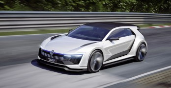 The VW Golf GTE Sport concept, ripe for unveiling at the 2015 LA Auto Show