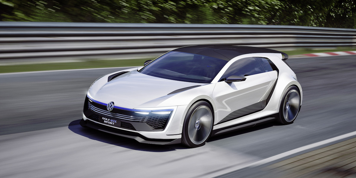 Meet The VW Golf GTE Sport Plug-in Hybrid Concept