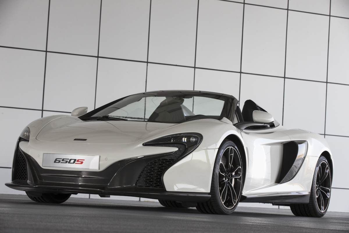 The McLaren 650S Spider Al Sahara 79 Has 24-Carat Gold In Its Paint