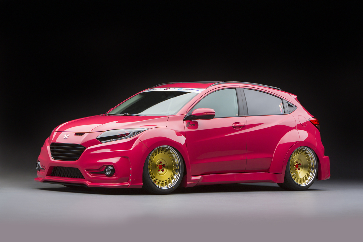 The 2016 Honda HR-V customized by Tjin Edition