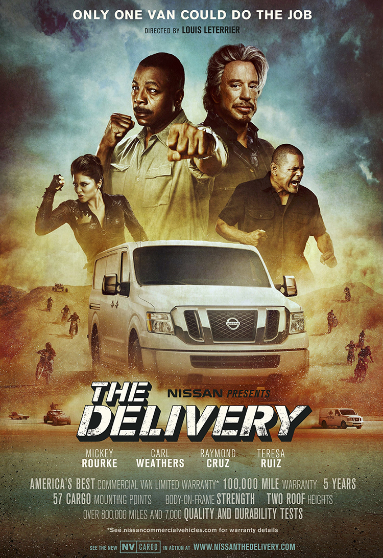 """Nissan presents """"The Delivery"""""""