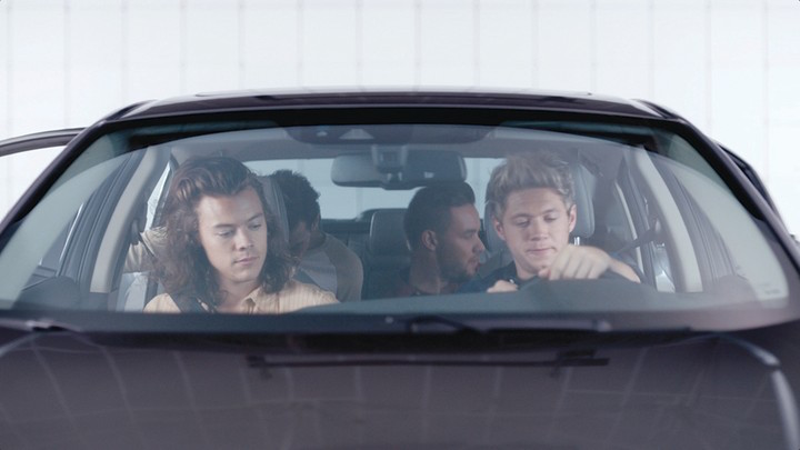One Direction Star In New Honda Civic Commercial