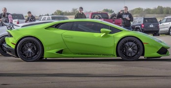 Underground Racing Lambo Smashes The 1/2 Mile World Record (VIDEO)