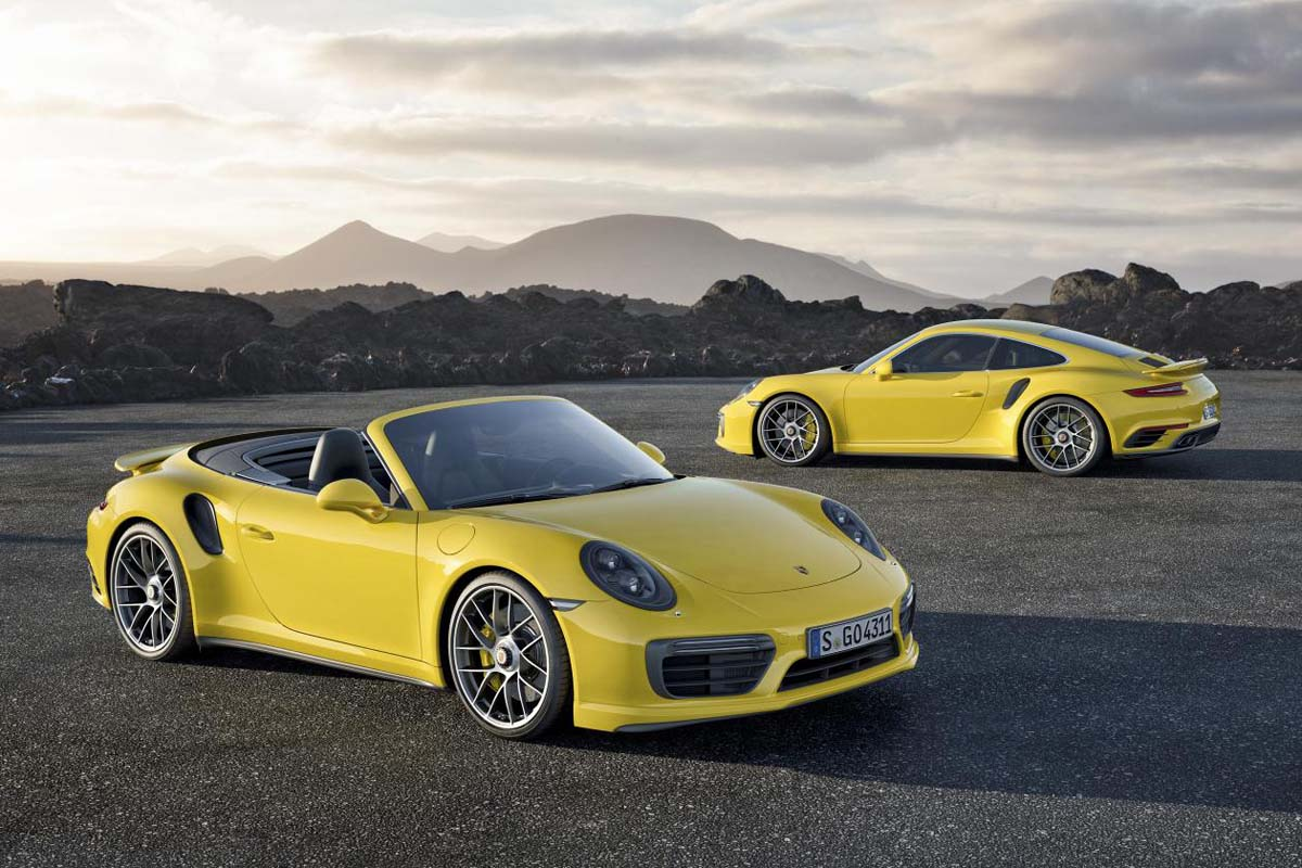 The 2017 Porsche 911 Turbo And Turbo S Are Outrageously Quick