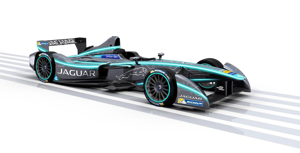 Jaguar Returns To Racing With Electric Formula E Car