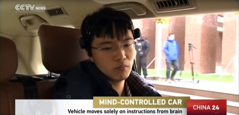 Chinese Scientists Create Brain-powered Car