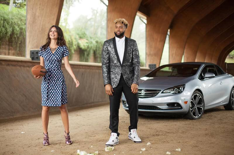 New Buick Super Bowl ad to star Odell Beckham Jr and Emily Ratajkowski