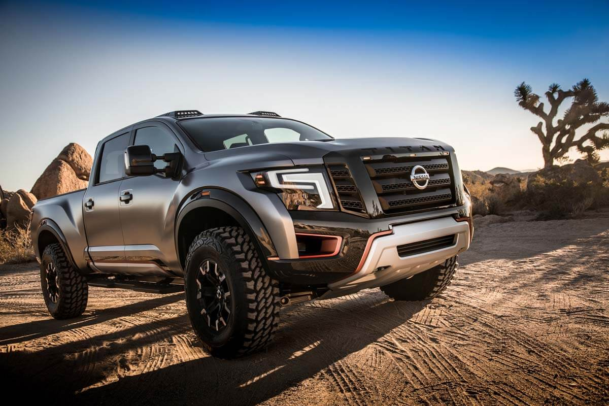 The Nissan TITAN Warrior Concept