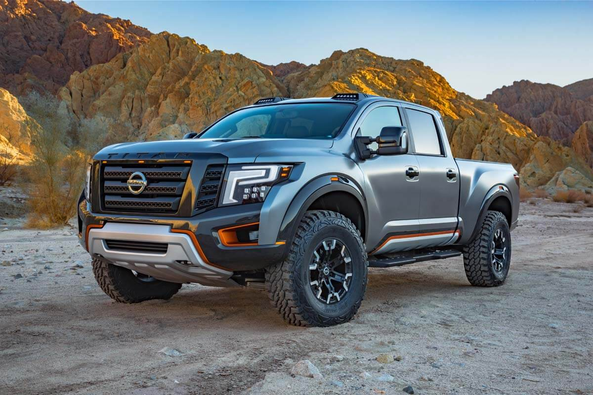 the nissan titan warrior concept. Black Bedroom Furniture Sets. Home Design Ideas