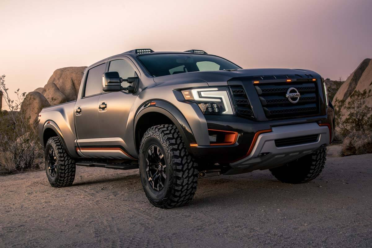The Nissan Titan Warrior Concept on Latest Get Paid To Write 2
