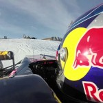 Watch Max Verstappen take his F1 car to the limits on SNOW