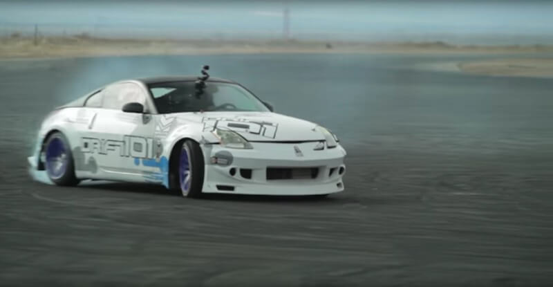 How to perfectly drift a supercharged Nissan 350Z