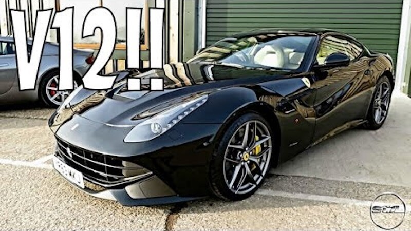 This is what it's like to drive the 730hp Ferrari F12 Berlinetta