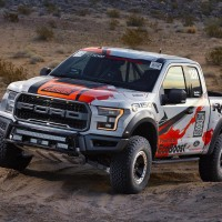 Check out these pictures of the 2017 Ford F-150 Raptor race truck