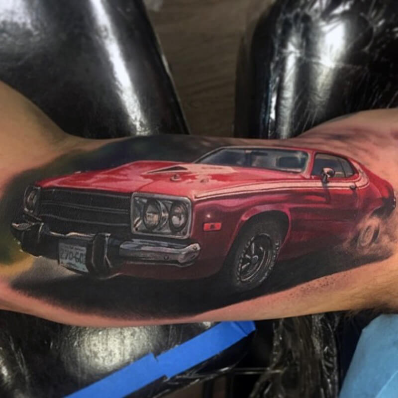 Car tattoos 30
