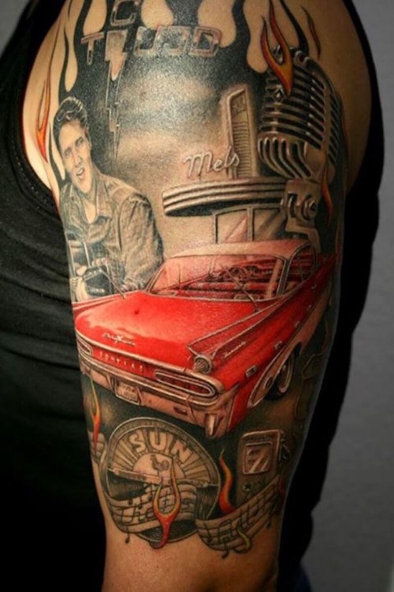 Car tattoos 34