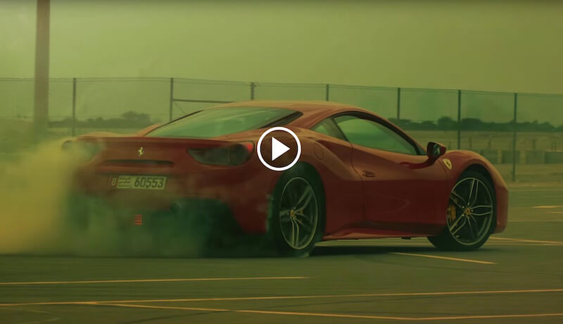 This Ferrari 488 GTB test drive is going to be epic