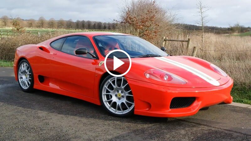Driving the Ferrari 360 Challenge Stradale when it's your dream car